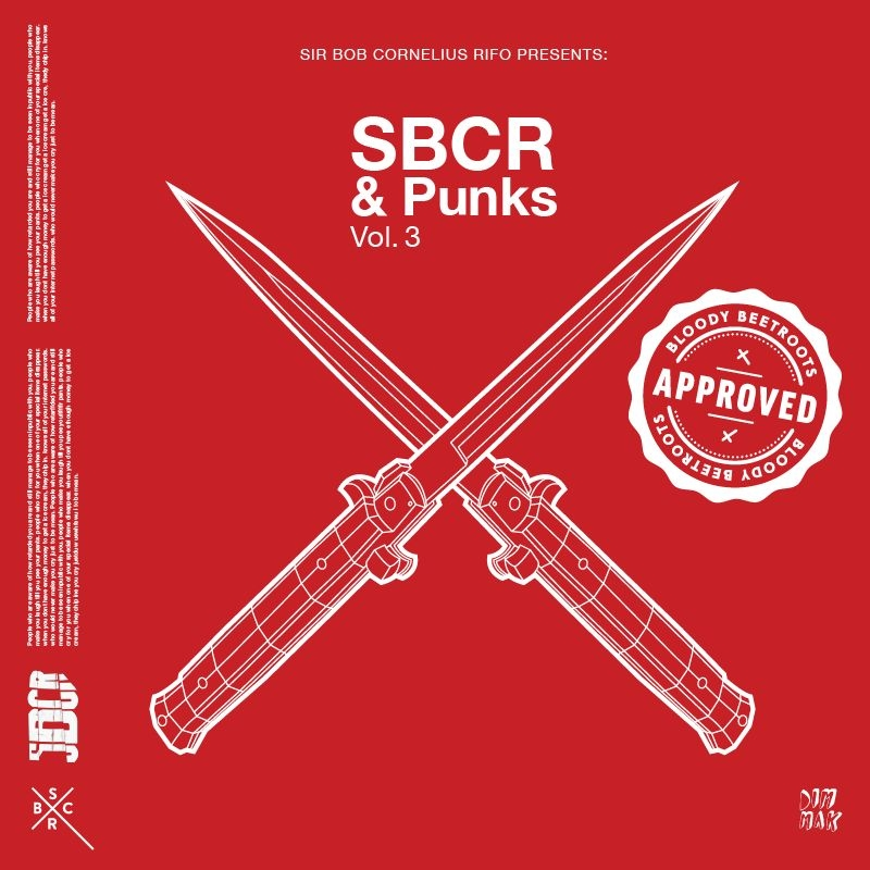 SBCR of The Bloody Beetroots Releases 'SBCR & Punks Vol. 3' EP [Dim Mak]