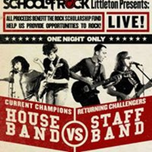 School of rock house band vs staff band denver us for House music bands