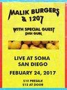 Malik Burgers & 1207