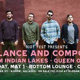 Balance and Composure - Bottom Lounge - May 1st