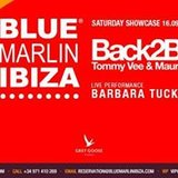 Saturday at Blue Marlin Ibiza: Back2Back - Barbara Tucker