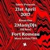 21.4 fabric Presents: 2manydjs (DJ Set) & Fort Romeau