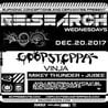 RE:Search ft. Goopsteppa and Vinja w/ Special Guests at Cervantes' Other Side
