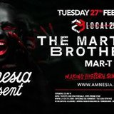 The Martinez Brothers · Amnesia present Local29
