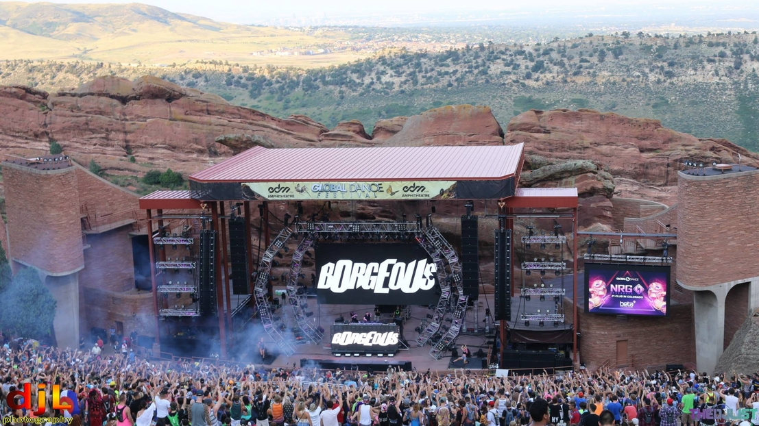A Little Bit Softer Now Red Rocks Amphitheater Subject To New Noise